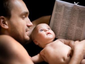 """Папин любимый """"пришелец"""". Папа, младенец, общение, страх, малыш, взаимопонимание,образ жизни, летопись развития ребенка."""