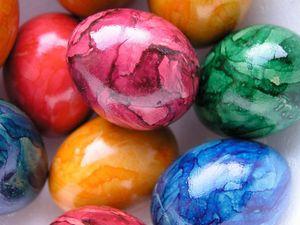 Как красить яйца на Пасху, Пасха, красим яйца, пасхальные рецепты, пасхальные яйца