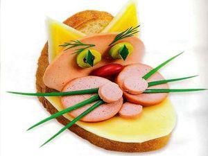 весёлые бутерброды, готовим вместе, бутерброды, весёлые рецепты, вкусные бутерброды