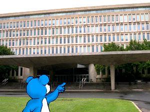 Здание штаб-квартиры разведывательного управления США