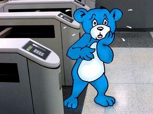Интернет-игры, интернет-обучение, Голубой мишка готовит детей для работы в ЦРУ