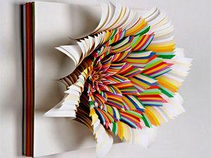 обработка бумаги для оригами, бумага для оригами, уроки оригами, азбука оригами