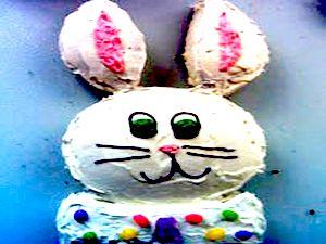 Праздничный Пасхальный стол, Пасхальный торт, пасхальный заяц, как испечь пасхальный торт, как украсить пасхальный  торт, Пасха, Христос Воскресе,