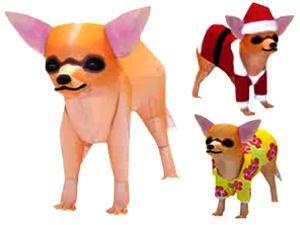 Паперкрафт - игрушки из бумаги, поделки из бумаги, собака из бумаги, чихуахуа из бумаги, игрушки своими руками