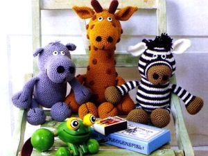 Мягкая игрушка Жираф - вязание крючком, азбука рукоделия, вязание, вязание спицами, вязание игрушек, своими руками, поделки
