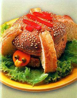 Веселый бутерброд Черепаха, бутерброды для детей,  бутерброды животные,  быстро и вкусно,  быстро приготовить,  весёлые бутерброды, готовимся к Новому Году 2011, как украсить стол,  рецепты бутербродов,  смешные бутерброды, праздничные рецепты, праздничные бутерброды, оригинальные рецепты