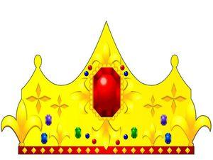 Корона Короля из бумаги, карнавальные костюмы своими руками, как сделать корону из бумаги, Новый Год 2011, игрушки из бумаги, паперкрафт, paper craft, выкройка короны из бумаги