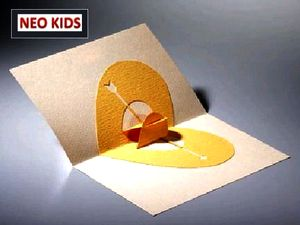 Киригами. Открытка Сердце. Как сделать открытку к празднику, открытки своими руками, поделки из бумаги, идеи подарков на Новый Год, объемная открытка из бумаги, как вырезать из бумаги, из цветной бумаги, схемы киригами