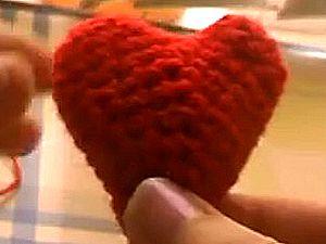Как связать сердце крючком, основы вязания крючком, сердечко, связанное крючком, азбука вязания, мягкие игрушки своими руками, как связать игрушку, День Святого Валентина, День всех влюблённых