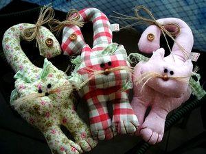 Мягкая игрушка кот - выкройка, выкройка мягкой игрушки котенок, как сшить кота выкройка, как сшить мягкую игрушку котенок, выкройки мягких игрушек бесплатно, Символ Нового Года 2011, подарки к новому году своими руками