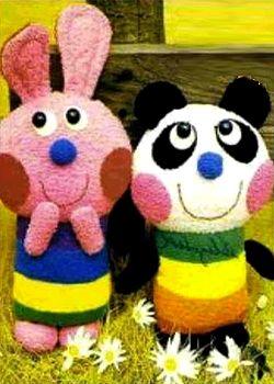 Выкройка мягкой игрушки Кролик-Заяц, выкройка мягкой игрушки панда, как сшить кролика, как сшить зайца, как сшить  панду, выкройки мягких игрушек, учимся шить, Новый Год, Символ Нового Года 2011