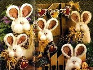 Символ Нового Года 2011 - Кролик, выкройка зайца, выкройка кролика, выкройки мягких игрушек, как сшить зайца, как сшить кролика, учимся шить, уроки труда в школе, Новый Год, Рождество