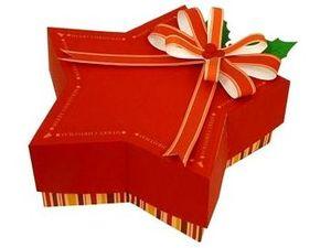 Рождественская звезда коробка из бумаги своими руками, Новый Год 2011, Рождество, как красиво оформить подарок, как сделать коробку из бумаги, выкройка коробки из бумаги, поделки из бумаги, паперкрафт, коробка для конфет