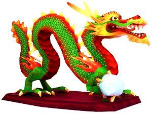 Дракон. Символ Нового Года 2012, дракон из бумаги, Год Дракона, символ нового года дракон, выкройка дракона из бумаги, как сделать дракона из бумаги, паперкрафт, papercraft, дракон своими руками, киригами
