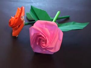 Оригами - Роза