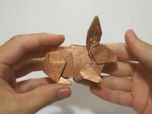 Оригами - Кролик